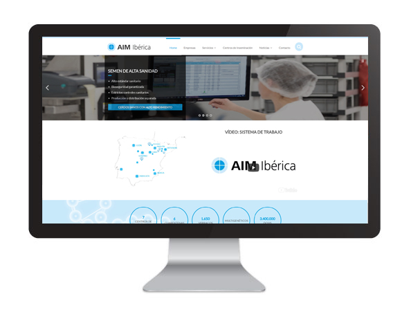 Website AIMIbérica