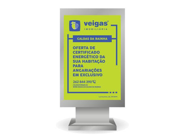Cartaz Agencia Veigas