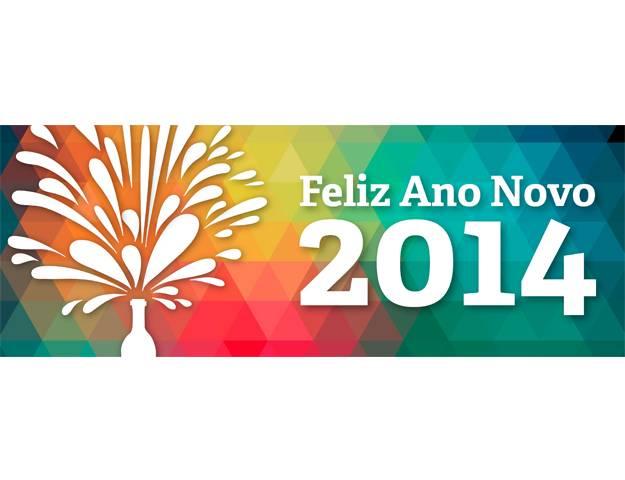 NS Postal de Ano Novo