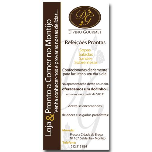 Anuncio Jornal D'vino Gourmet