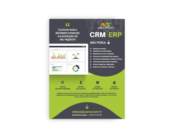 anúncio software crm/erp