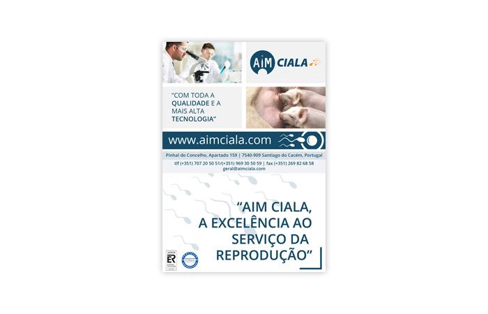 Anúncio AIM Ciala