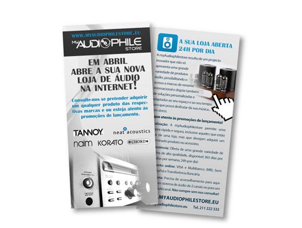 Flyer MyAudioPhileStore