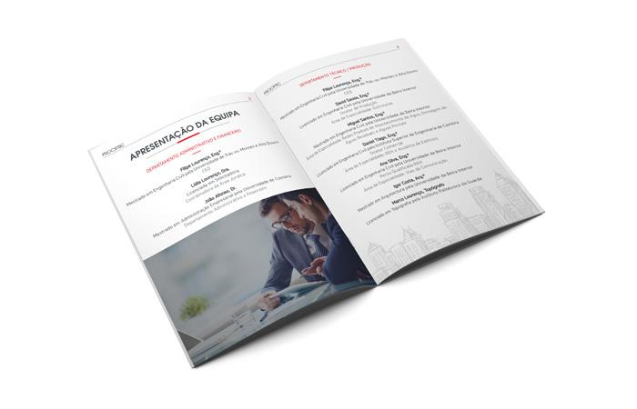 PDF de apresentação da equipa
