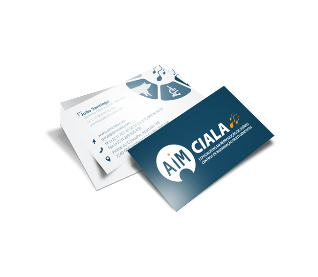 Cartão de Visita AIM Ciala