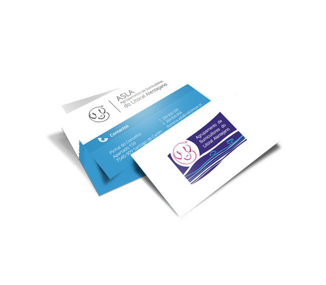 Cartão de Visita ASLA