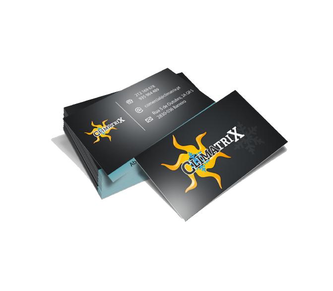 Cartão de Visita Climatrix