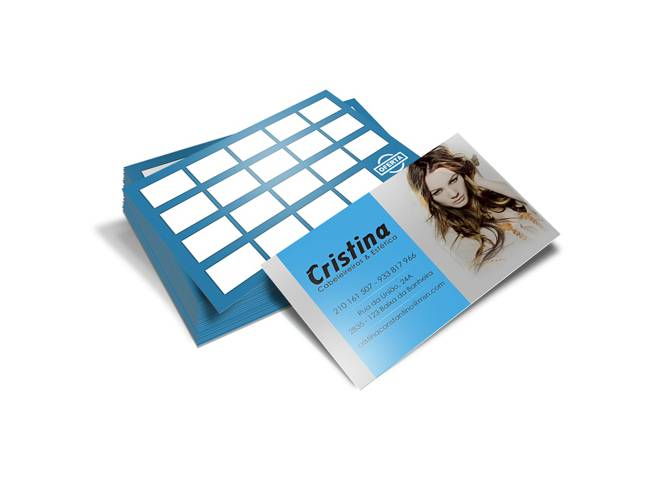 Cartão de Visita Cristina Cabeleireiros