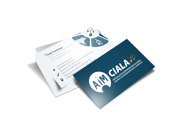 Cartões de Visita AIM Ciala