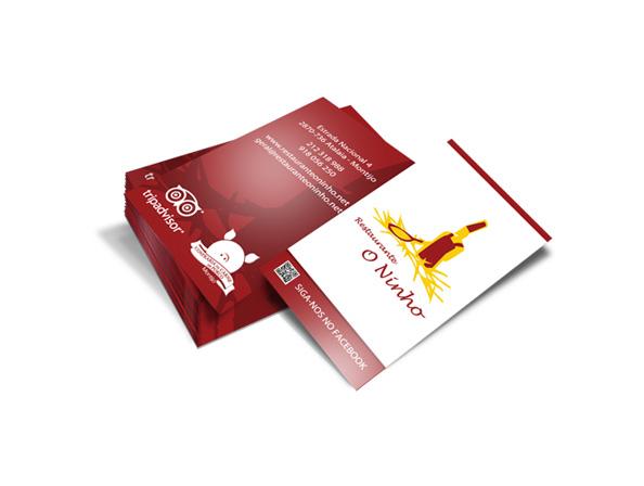 Cartão de visita O Ninho