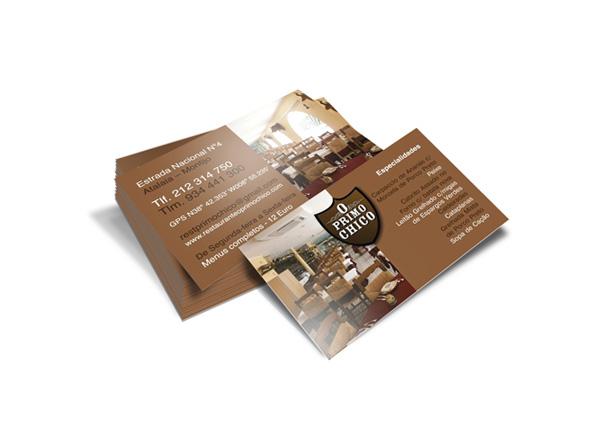 Cartão de visita Primo-Chico
