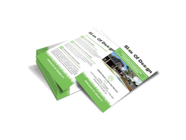 Cartão de visita Slice of Design