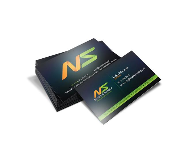 Cartão de Visita Noble Strategy