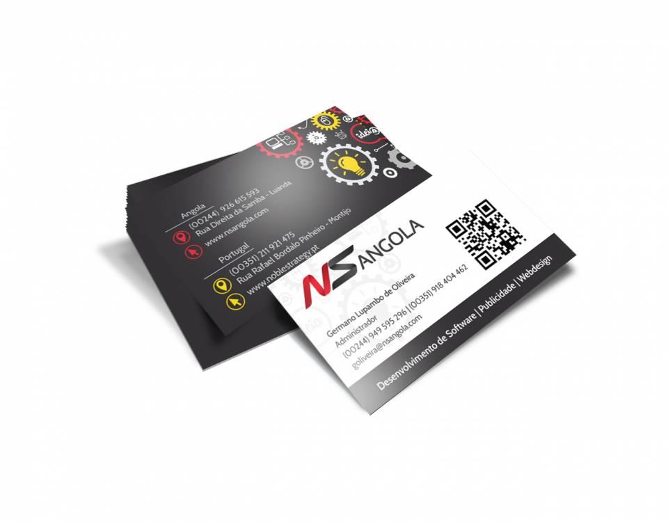 Cartão de Visita NS Angola