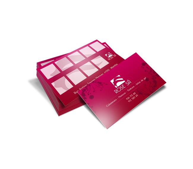 Cartão de Visita Rose Sá