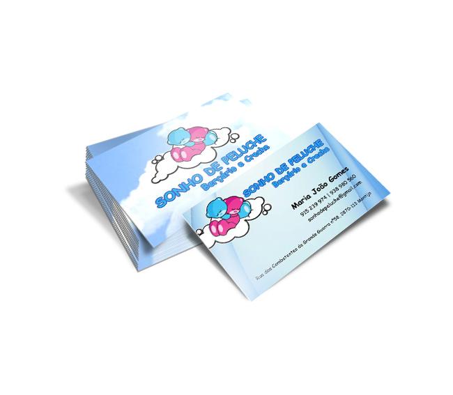 Cartão de Visita Sonho de Peluche