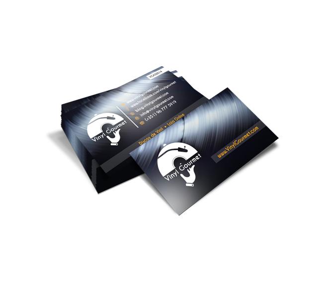 Cartão de Visita Vinyl Gourmet