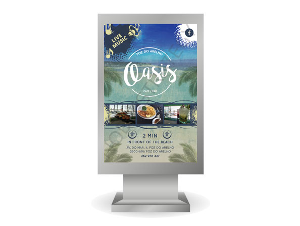 Cartaz Oasis Bar