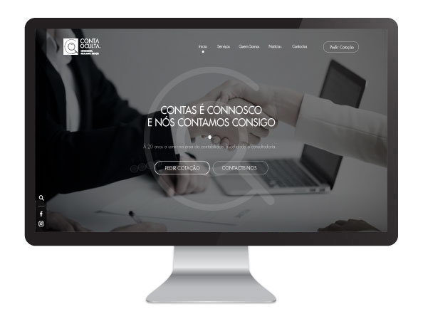 Website Conta Oculta