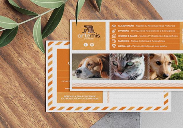 flyer artemis pet store