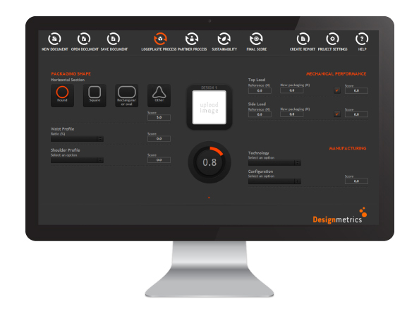 Aplicação Design Metrics