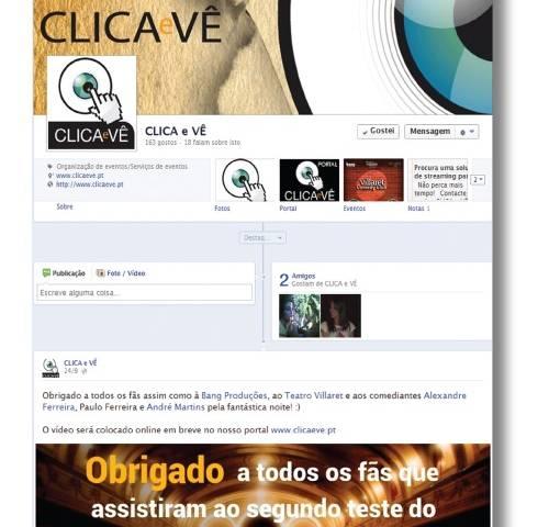 Facebook Clica e Vê