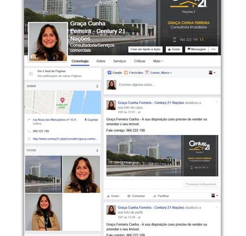 Facebook Graça Cunha Ferreira