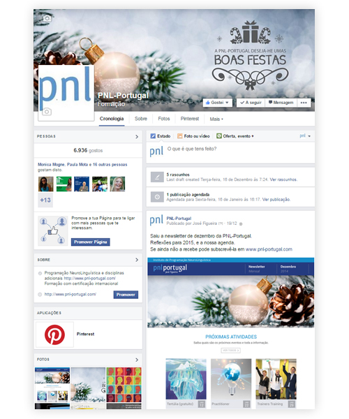 Facebook PNL-Portugal