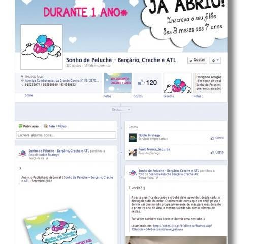 Facebook Sonho de Peluche