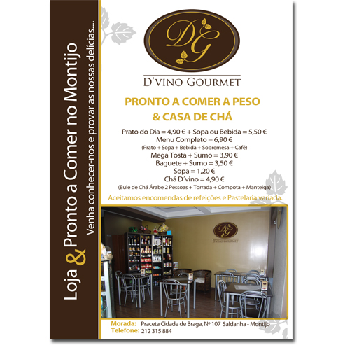 Flyer D'vino Gourmet