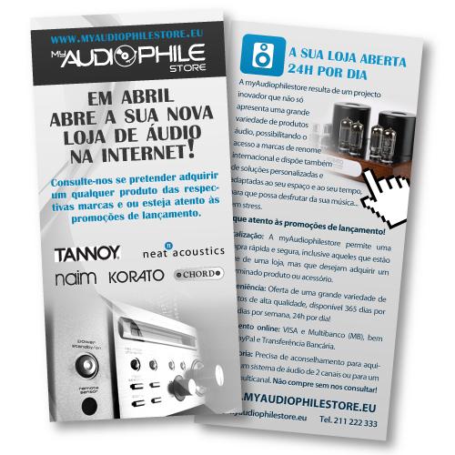 Flyer MyAudioPhile Store