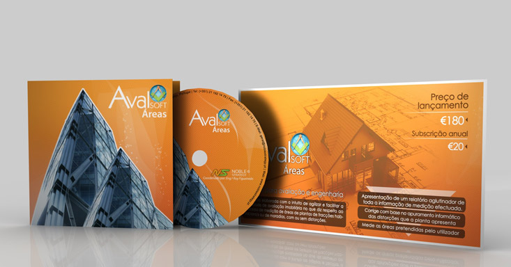 Flyer AvalSOFT Áreas