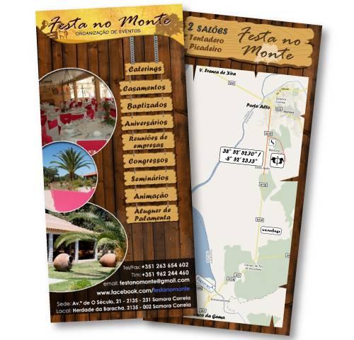 Flyer Festa do Monte