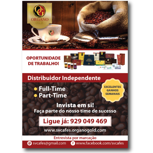 Flyer Organo Gold