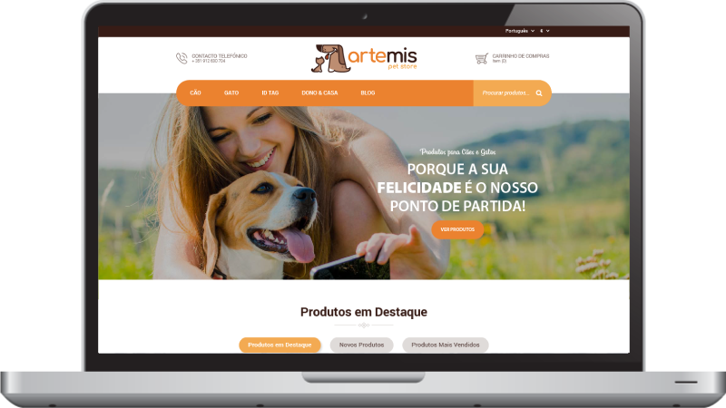 Home Artemis Pet Store
