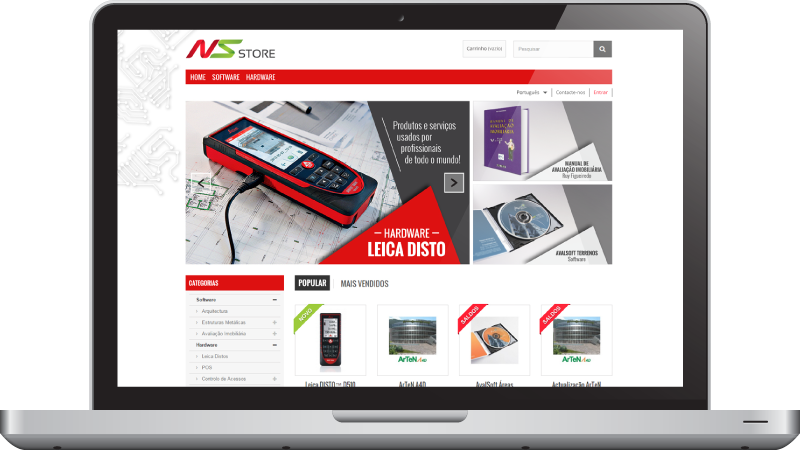 Website NS Store