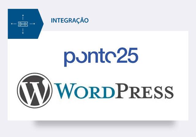 integração ponto25 e wordpress
