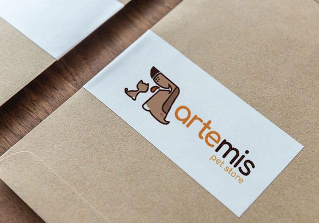 logotipo loja de animais