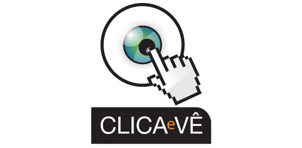 Logotipo Clica e Vê