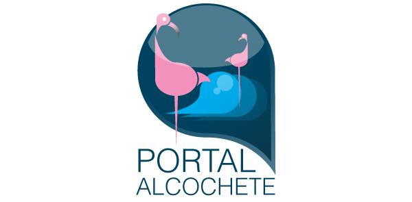 Logótipo Portal Alcochete