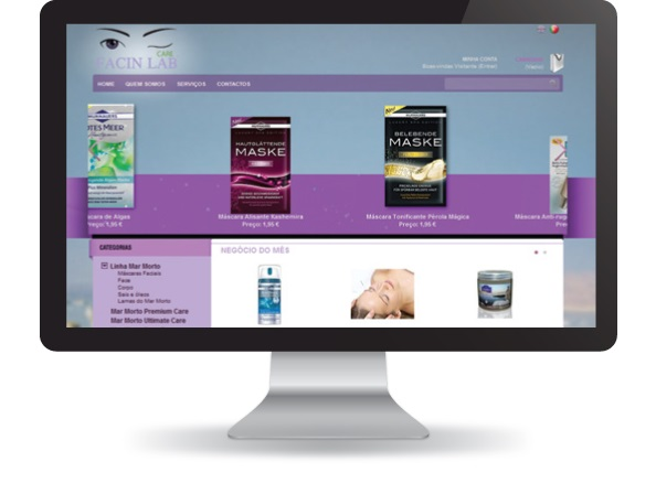 Loja Online Facin Lab Care