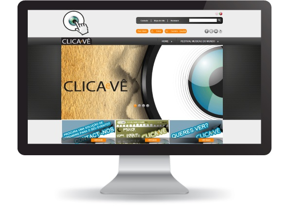 Loja Online Clica e Vê