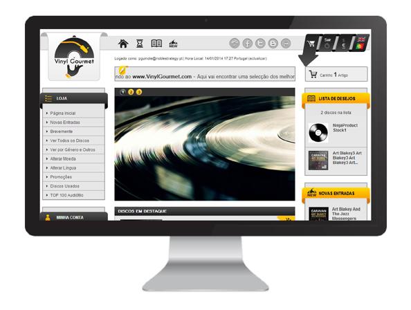 Loja Online VinylGourmet