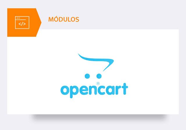 módulos loja online opencart