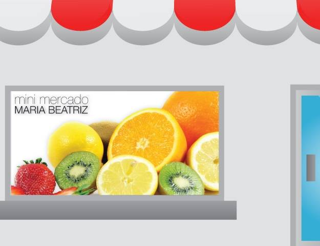 Montra Minimercado Maria Beatriz