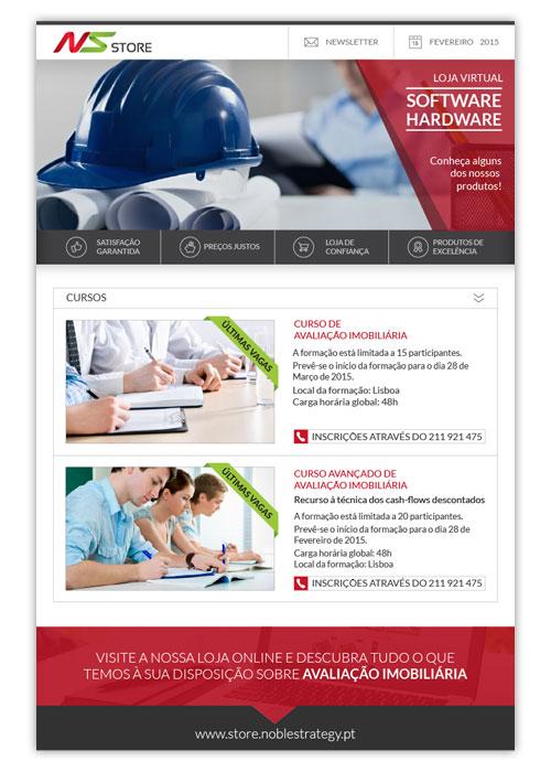 Newsletter NS Store