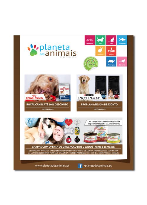 Newsletter planeta dos animais