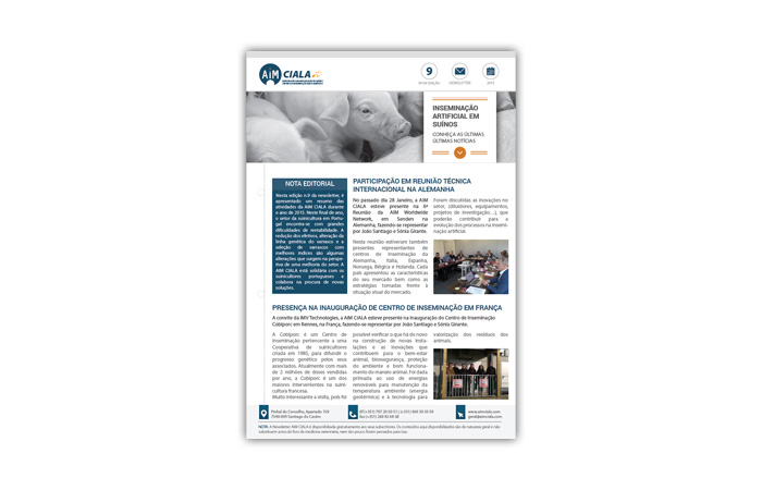 Newsletters AIM Ciala