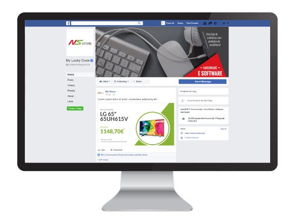 Facebook NS-Store