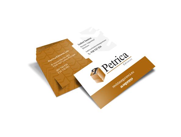 Cartões de Visita Petrica
